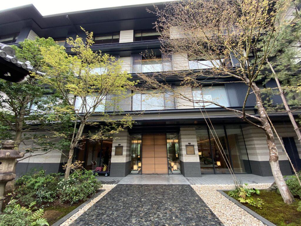 ホテルザミツイ京都入り口