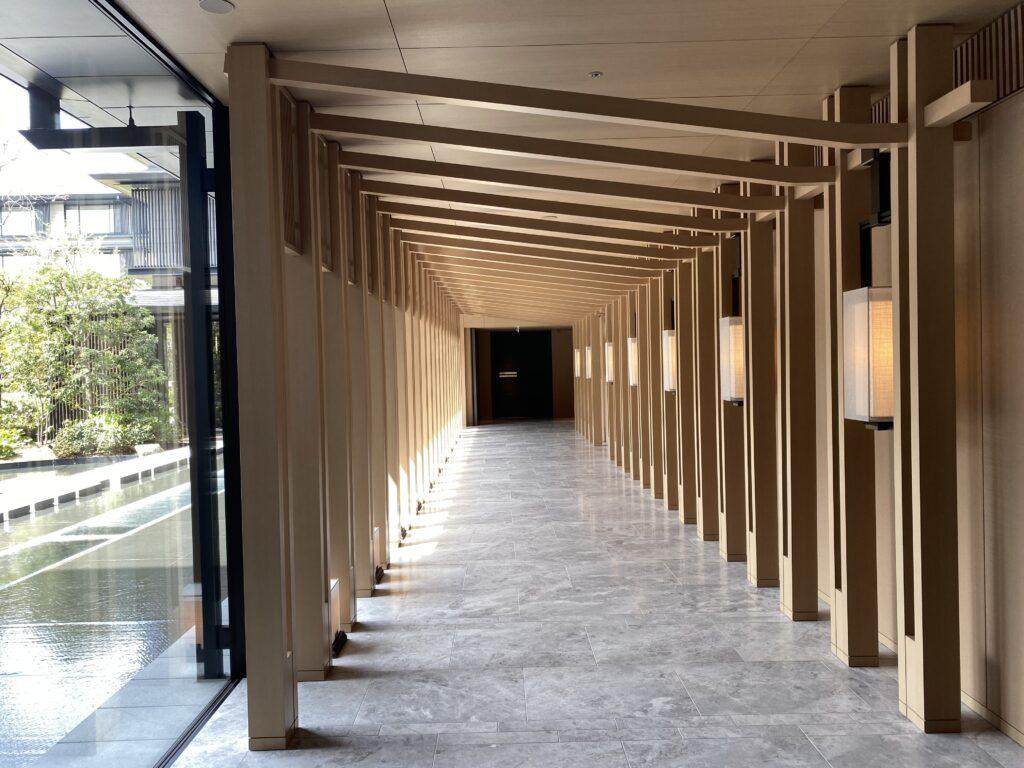 ホテルザミツイ京都通路