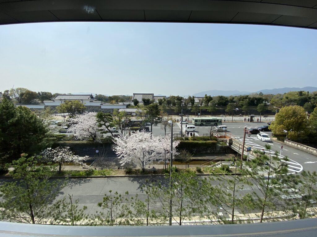 ホテルザミツイ京都ニジョウルーム景色