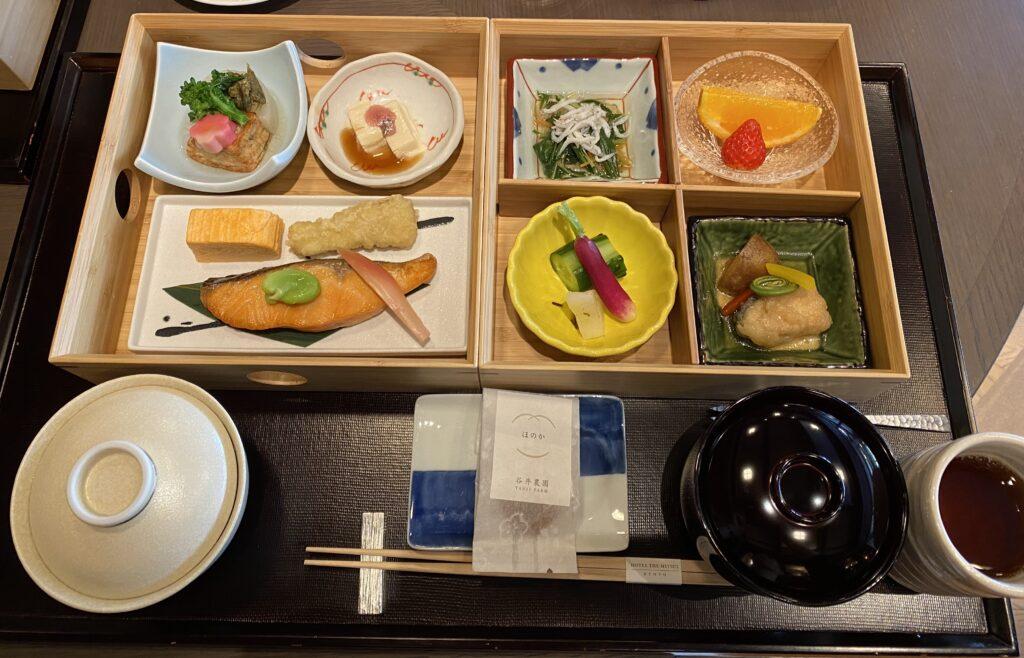 ホテルザミツイ京都朝食1