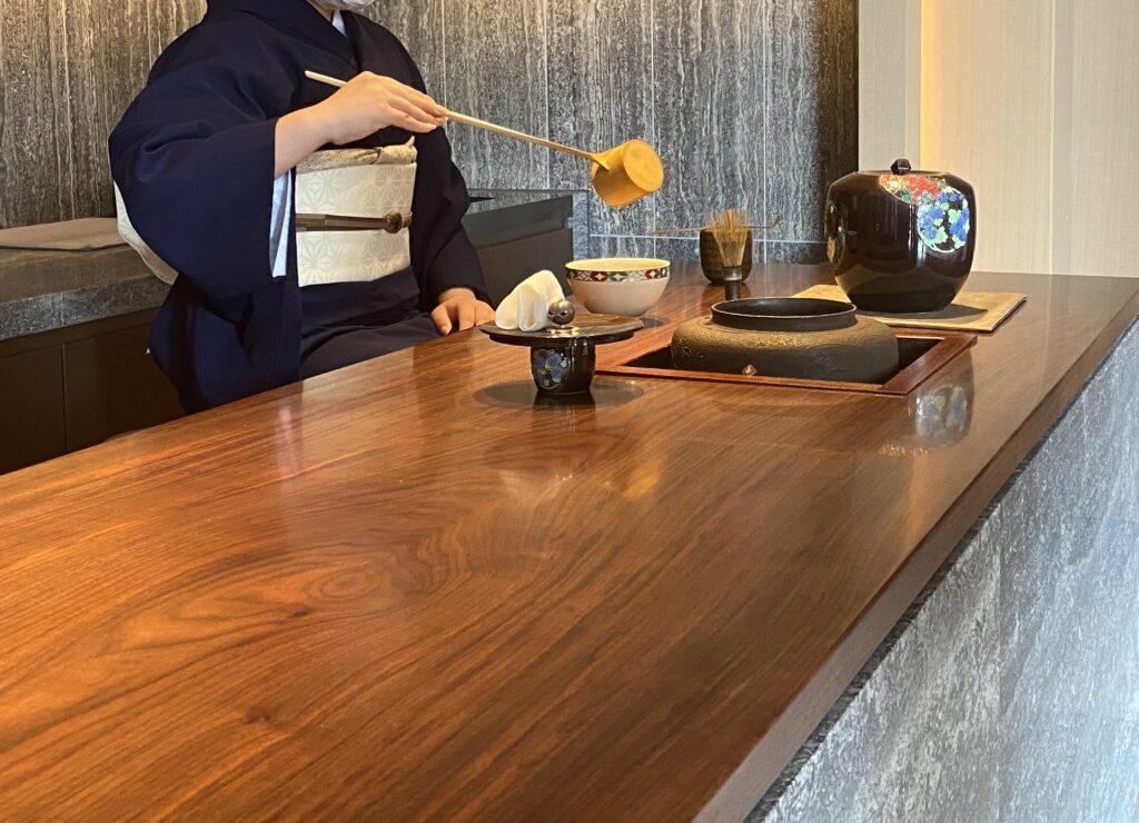 ホテルザミツイ京都お手前