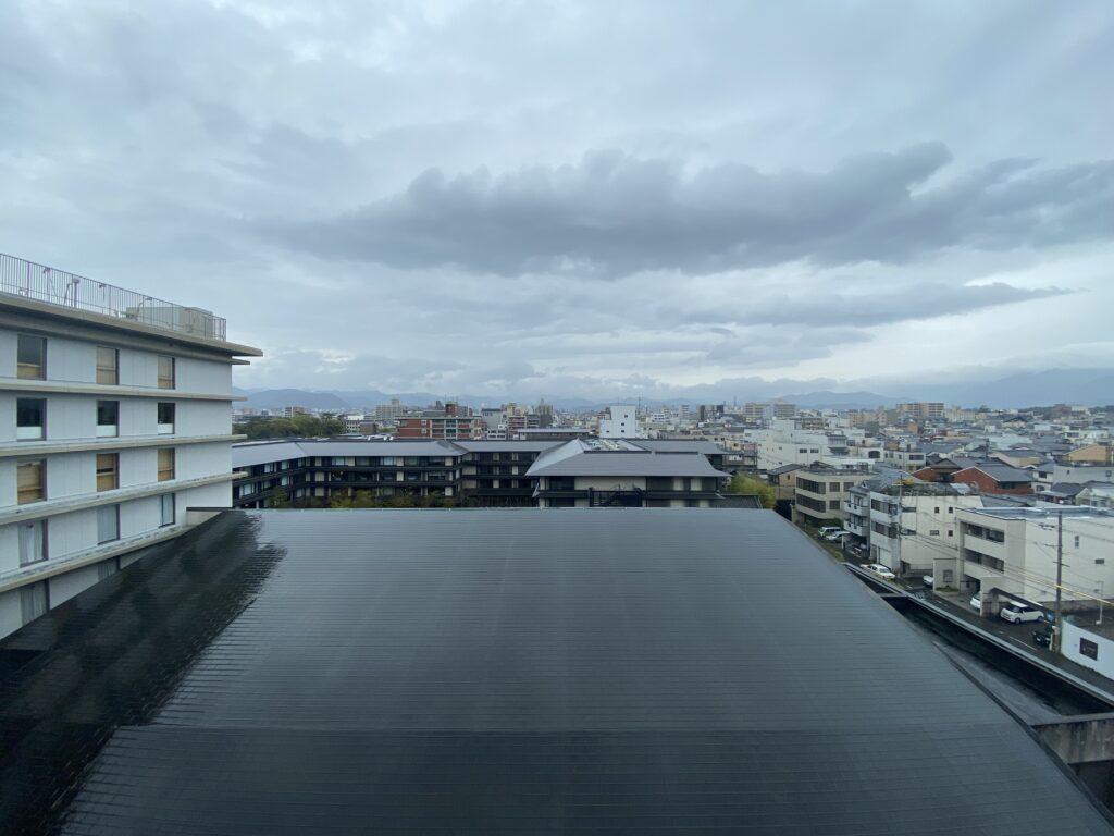 ANAクラウンプラザホテル京都外の眺め